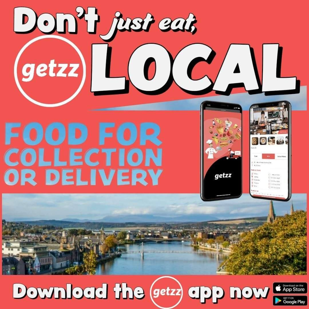 getzz – Local Inverness Food Delivered to You